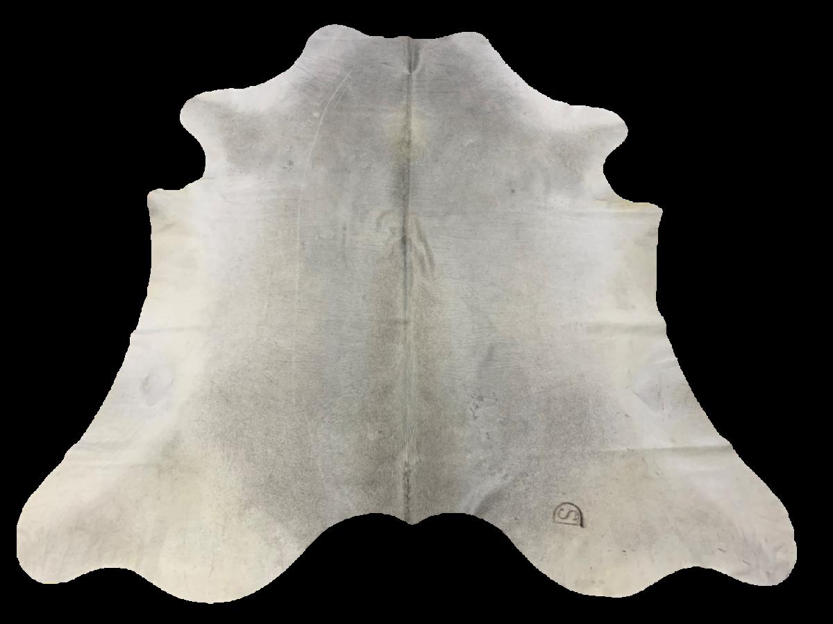 H6102 Grey Cowhide Rug 38 Sqft
