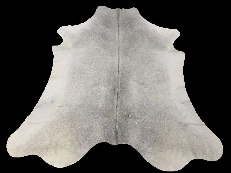 H6103 Grey Cowhide Rug 38 Sqft